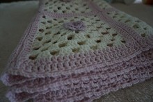 Baby crochet blankets , crochet cotton woven baby blanket , hand made blankets baby cotton towel