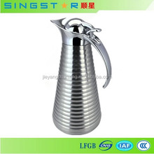 Unique Design High Grade Beautiful Stainless Steel Thermos Vacuum Jug Coffee Pot
