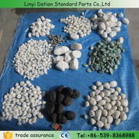 Hot sale 5-50mm natrual pebble stone wall decoration