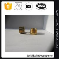 260-93 brass fitting with wing (BRASS FEMALE SWEAT TEE (F X F X C) COPPER.)(LEAD FREE)