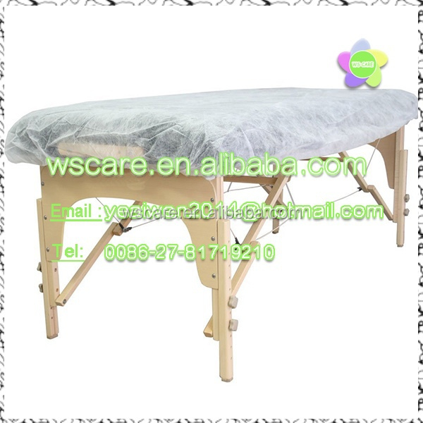 Bed Cover Sheets Disposable Polypropylene Fitted Stretcher