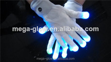 High quality Wholesale Fantastic flashing LED gloves