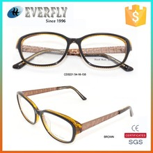 China popular 2015 new arrival fashion acetate spectacle frame