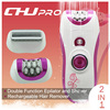 High Quality 2 in 1 Electric Rechargeable Hair Remover Epilator For Bikini