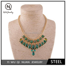 Foreign trade big-name female high-end boutique clothing accessories false collar necklace QN03308
