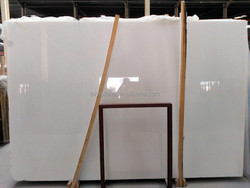 natural cheap chinese pure white marble big slab,tile,translucent marble stone,crystal white marble