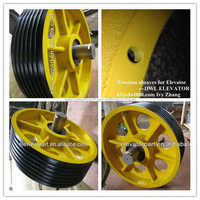 TRACTION SHEAVE ROPE PULLEYS/Odis toec-40/60 traction wheel,odis wire rope pulley wheel,odis wire rope sheaves pulley