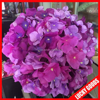 shopping center or wedding hanging purple flower decorative balls wholesale