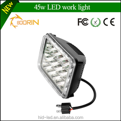 IP67 Auto Led Working Light 45w 12v led tractor work light for Offroad,Tractor,Truck,UTV,ATV