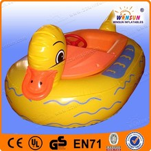 Funny water inflatable floating duck, duck model floating on water for sale
