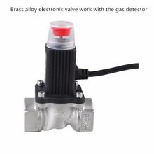 Electronic shut-off valve