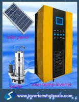220v/380v 0.75-55kw solar water pump inverter with VFD function for ac pump