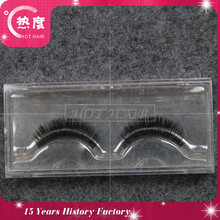 Wholesale luxury 3D mink fur strip eyelash diamond mink eyelashes volume strip lashes