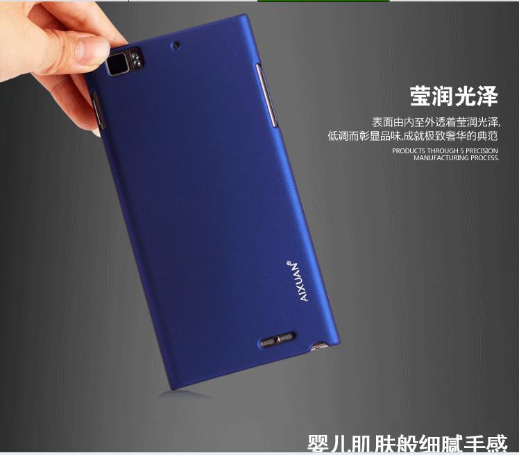 протектор экрана + мобильный мешок случае lenovo К900 дело высшего качества aixun обратно мешок для lenovo К900 от Шэньчжэнь