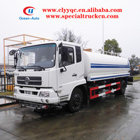 Dongfeng Tianjin 10ton water tanker 10000liter water carrier vehicle for sale