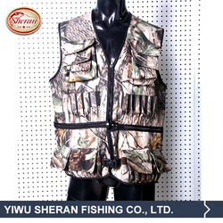2016 New Hot Selling Camo Fishing Vest