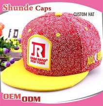 Wholesaler Snapback Hat Glow in the Dark Hat Short Brim Snapback Hat
