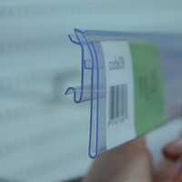 display plastic clip strip