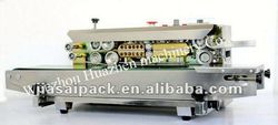 super sealer with ce FRD-900 horizontal continous sealer SS body