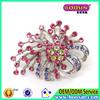 2015 Elegant Shiny Crystal Brooch,china Rhinestones wholesale brooch Pin for wedding invitations #5204
