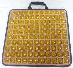 Brown Cool gel cushion cushioning chairs and car seats ,with massage function pad,