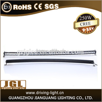 2015 new product led headlight waterproof ip68 curved led light bar car led light bar