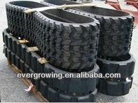 Hitachi mini excavator rubber tracks