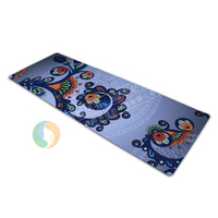 Natural bulk rubber yoga mat