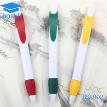 Advertising custom logo plastic pen cheap ballpoint plastic product