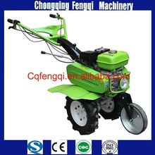 Small rotary tiller gear driving and electric starting