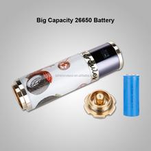 mechanical copper chain reaction dual 26650 clone king kong box mod