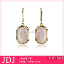 Latest Costume Jewelry Made In China Handmade Silver Jewellery Sterling Silver Earring For Party Girl