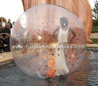 PVC and TPU water balls/Colourful Water Walking Ball/Human Bowling Ball For Season F7040