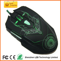 lighting computer mice, good design light gaming 6D mouse