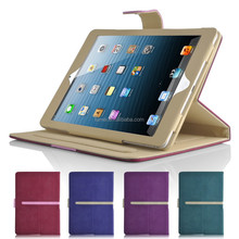 Smart Luxury PU Leather Thick Stand Cover for ipad mini & ipad mini 2