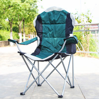 hot promotion item camping foldable beach chair with holder portable lightweight folding fishing chair