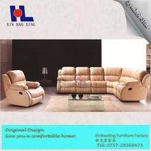 #2012 China Home design sofa relax furniture high back recliner sofa 3 2 1