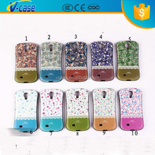 iFace Cell Phone Case PC+TPU Floral Shell Shockproof Back Cover Skin for iPhone for Samsung