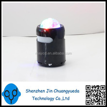 Support Music of TF Card Wrieless Bluetooth Speaker With Color Light , Colorful Music Fountain Speaker