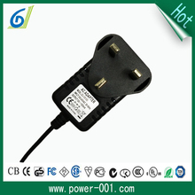12v 1200mA ac dc power adapter wall mount power supply for security camera