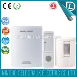 OEM/ODM available smart home waterprrof shop entry door chime motion detector