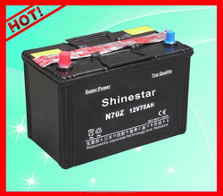 2015 Safe long-lasting hybrid vehicles LOW Maintenance battery N70Z