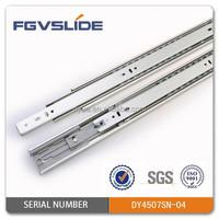 Cold Rolled Steel Slient Close Soft Closing Drawer Slides for Cabinet Drawer