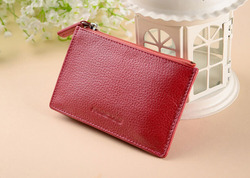 High-grade Genuine Leather Thin Women Wallet