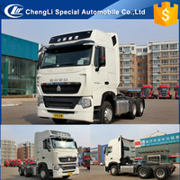 Powerful Engine 371HP 6X4 Sinotruk HOWO Truck Tractor/ Prime Mover HOWO A7 tractor head with Automatic transmission Airbag seat