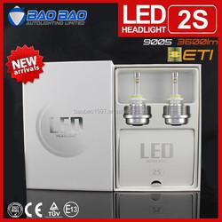 Hot sale High Quality LED moto headlight, CAR led headlight 30w 3600lm, led h4 h13 h11 h7 headlight BAOBAO Lighting