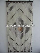 Decorative Hanging Door Wooden Beads Curtain Design