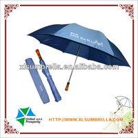 New style 2 foldable golf umbrella auto open