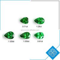 top quality fashion water shape green garnet price