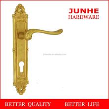 Wenzhou junhe gold plated hardware door lock price